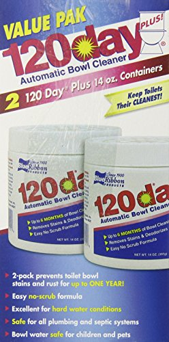 Blue Ribbon Value Pak 120 Day Automatic Bowl Cleaner, 14 Ounce, 2 Count