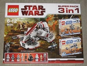 LEGO 66341 Star Wars - Paquete Especial 3 en 1 (Juegos 8091 ...