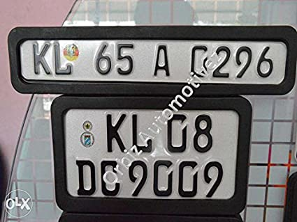 kashvi traders all bike number plate frame & kashvi traders all bike number plate frame: Amazon.in: Car u0026 Motorbike
