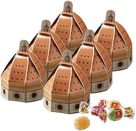 イタリアお土産 ドゥオーモ フルーツゼリー 6箱セット