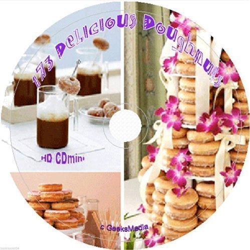 173 Delicious Doughnut Recipes on cd