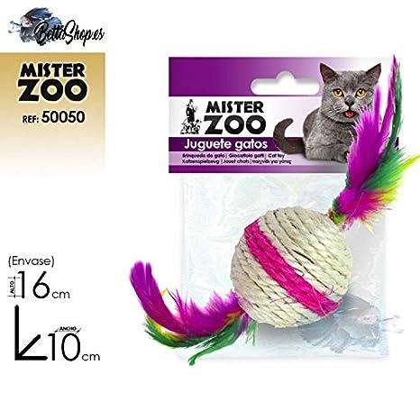 JUGUETES PARA GATOS JUGUETES DE GATOS JUGUETE GATO BOLAS CASCABEL SONIDO: Amazon.es: Productos para mascotas