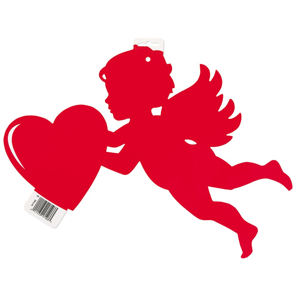 amazoncom 165 paper cutout cupid valentines day decoration kitchen dining