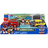 Paw Patrol Mission Paw Rescue Vehicles Marshall & Rubble