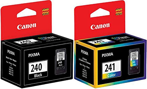 GENUINECanon PG Black 240 CL 241 Color Ink Cartridges for MG3520 MX472 MG2120