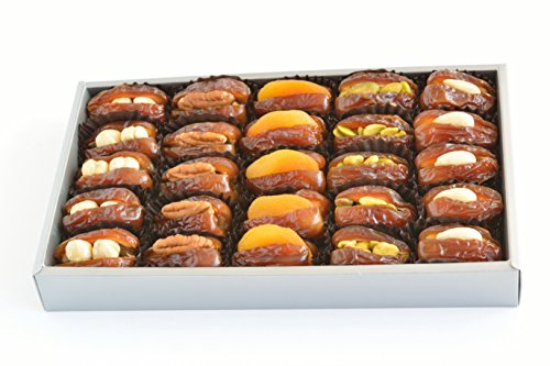 New Gourmet Filled Medjool Dates - 25 Pc