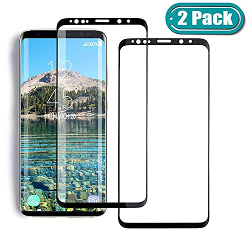 (MSLAN [2-Pack] for Galaxy S8 Plus Screen Protector Tempered Glass,[Anti-Fingerprint][No-Bubble][Scratch-Resistant] Glass Screen Protector for Samsung Galaxy S8 Plus)
