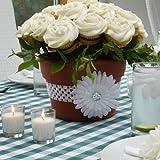 The Cupcake Rack Flower Pot Cupcake Stand