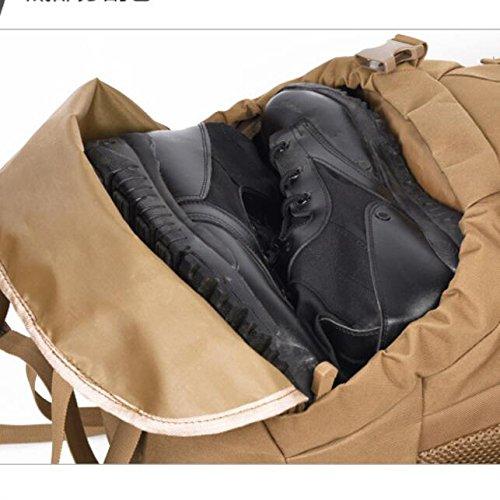 DYYTR Tactical Military Military Military Camouflage Rucksack Große Angriff Rucksack 100L Wasserdichte Tasche Jagd Camping Wandern Outdoavelor Tr B07FL2Q75J Wanderruckscke Authentische Garantie 94c6cb