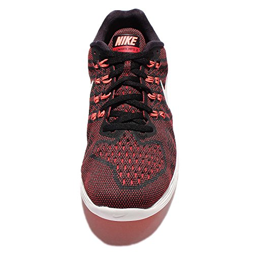 Nike Men's 818097-006 Trail Running Shoes Black (Black / Summit White-university Red) s0bk5x7