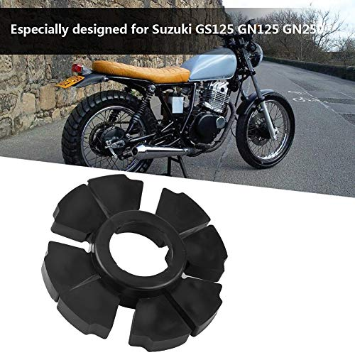 Qiilu Motorcycle Wheel Hub Rubber Buffer for GS125 GN125 GN250