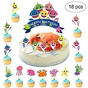 Suppar 51 Set de decoración para tarta de cumpleaños con ...
