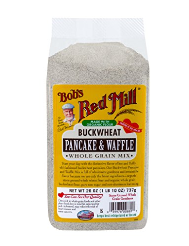 heat Pancake & Waffle Mix, 26-ounce (Bobs Red Mill Pancake)