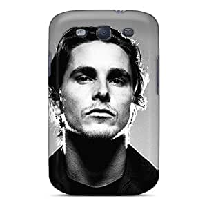 Fashion Tpu Case For Galaxy S3- Christian Bale Defender Case Cover