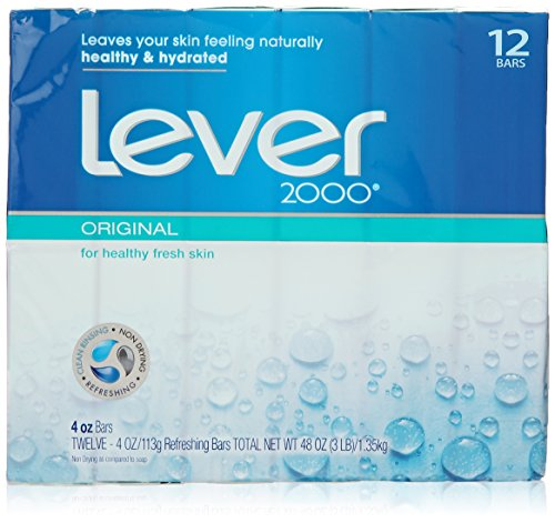 Lever 2000 Bar - Original - 4 oz - 12 ct