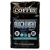 Black Knight Decaf Organic Fair Trade Coffee, Whole Bean, Water Decaf, Fresh Roasted Coffee LLC. (2 LB)