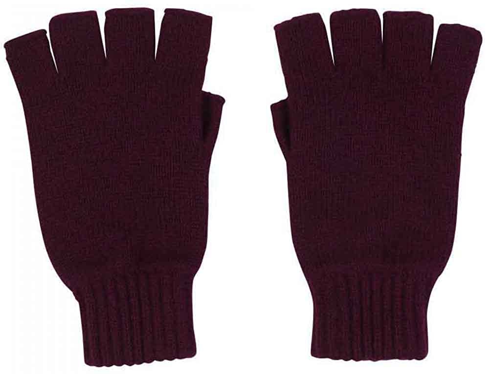 Graham Cashmere - Womens Cashmere Fingerless Gloves - Made in Scotland - Gift Boxed