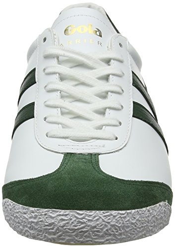 50 Winter White Leather Baskets Harrier Green Blanc Homme Gola 578aq6wY