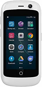 Unihertz Jelly Pro, The Smallest 4G Smartphone in The World, Android 8.1 Oreo Unlocked Smart Phone with 2GB RAM and 16GB ROM, Pearl White