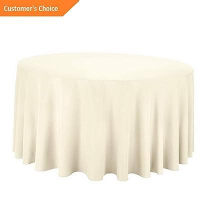 Amazon Com Kaputar Round Premium Polyester Tablecloth
