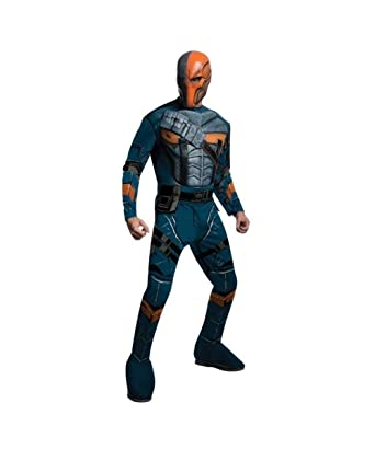 bf2e599b2ee3 Amazon.com  Batman Arkham Asylum Gotham Deathstroke Mens Halloween Costume  Deluxe  Clothing