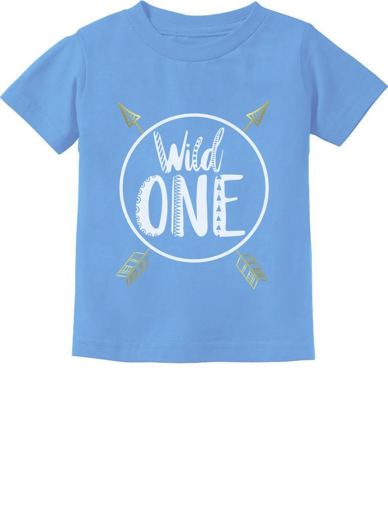 Wild One Baby Boys Girls 1st Birthday Gifts One Year Old Infant Kids T-Shirt GZrrPahg75