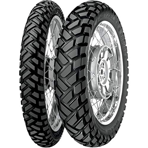 Metzeler Enduro 3 Sahara Tire - Rear - 4.00-18 , Position: Rear, Load Rating: 64, Speed Rating: S, Tire Size: 4.00-18, Rim Size: 18, Tire Type: Dual Sport, Tire Application: All-Terrain 0143000