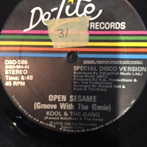 Open Sesame (Groove With The Genie) Special 12
