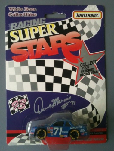 MATCHBOX 1993 Racing Super Stars White Rose Collection - Dave Marcis #71 Enck's Catering Chevy