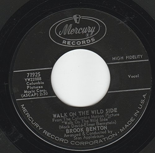 45vinylrecord Somewhere In The Used To Be/Walk On The Wild Side (7