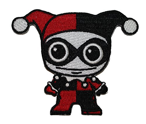 Application DC Comics Batman Harley Quinn Doll Patch