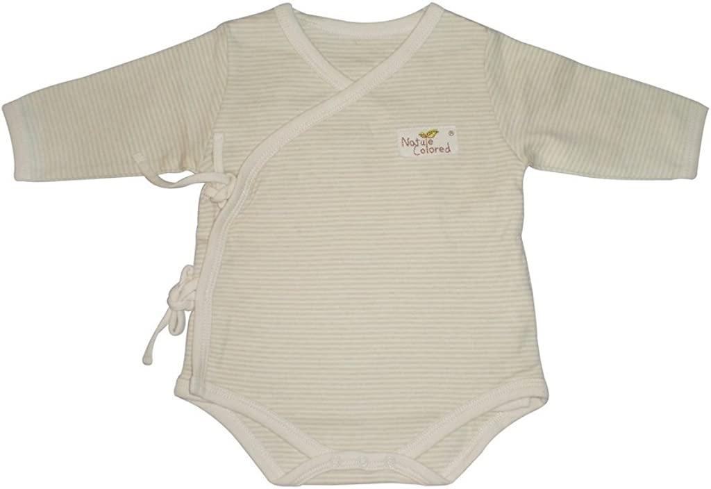 Naturecolored baby Romper certificated organic cotton