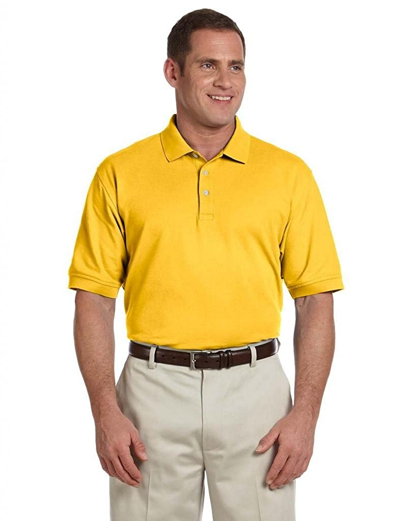 D100 Short-Sleeve Polo Devon /& Jones mens Pima Piqu