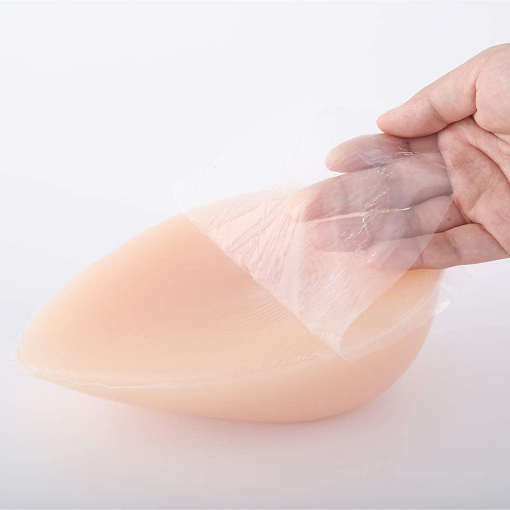 Silicone Breast Lightweight Forms Woman Mastectomy Prosthesis Transgender