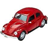 1973 Volkswagen VW Beetle Red 1:24 Diecast Model Car