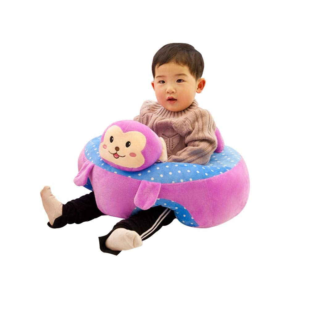 3-10 Months Baby Learning Sitting Seat Infant Baby Learning Sitting Chair Portable Seat Children's Plush Toy PROKTH
