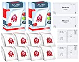 Miele FJM AirClean 3D Efficiency Vacuum Cleaner Bags - 2 Boxes -...