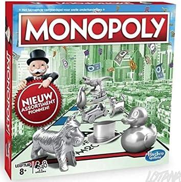 Hasbro Monopoly Classic Niños y Adultos Simulación económica - Juego de Tablero (Simulación económica, Niños y Adultos, Niño/niña, 8 año(s), 99 año(s), Holandés): Amazon.es: Juguetes y juegos