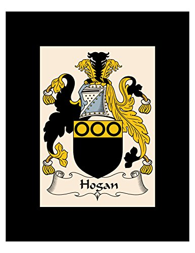 0400f119d88 Carpe Diem Designs Hogan Coat of Arms/Hogan Family Crest 8X10 Photo Plaque,  Personalized