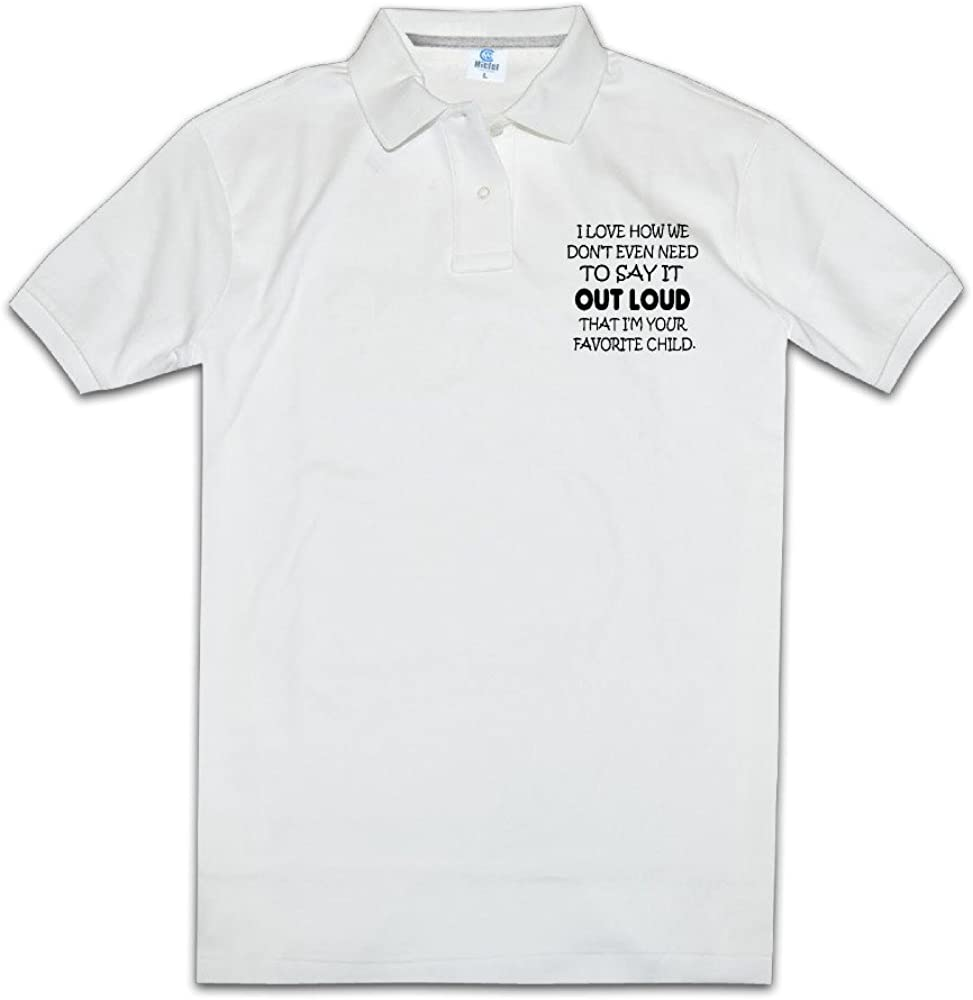 I M Your Favorite Child Men Polo Style