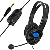Gaming Headphones, Wired Gaming Headset Headphones With Microphone For Sony PS4 PlayStation 4 GBNG