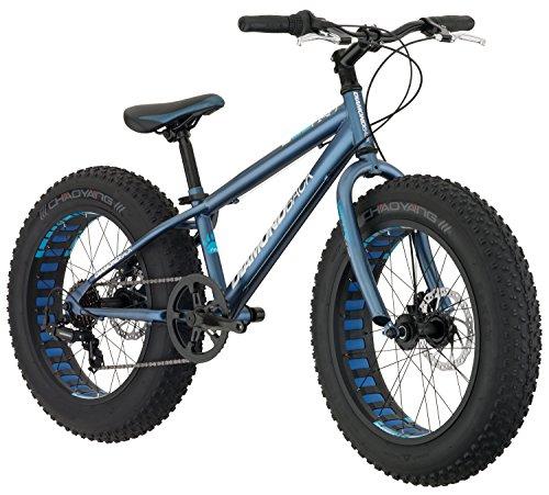 Diamondback Bicycles El Oso Nino Complete Youth Fat Bike, Satin Blue, One Size