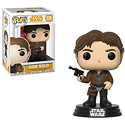 Funko Pop! Star Wars: Solo - Han Solo Vinyl Figure (Bundled with Pop Box Protector Case): Toys & Games