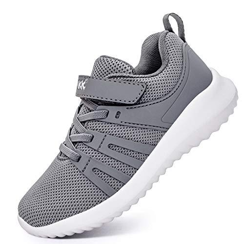 Akk Boys Girls Running Shoes – Kids Tennis Breathable Lightweight Sneakers
