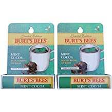 Burt's Bees Limited Edition Mint Cocoa Lip Balm (2 Pack)