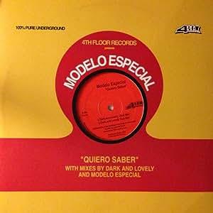 "Modelo Especial - Quiero Saber - Modelo Especial 12"" - Amazon.com"