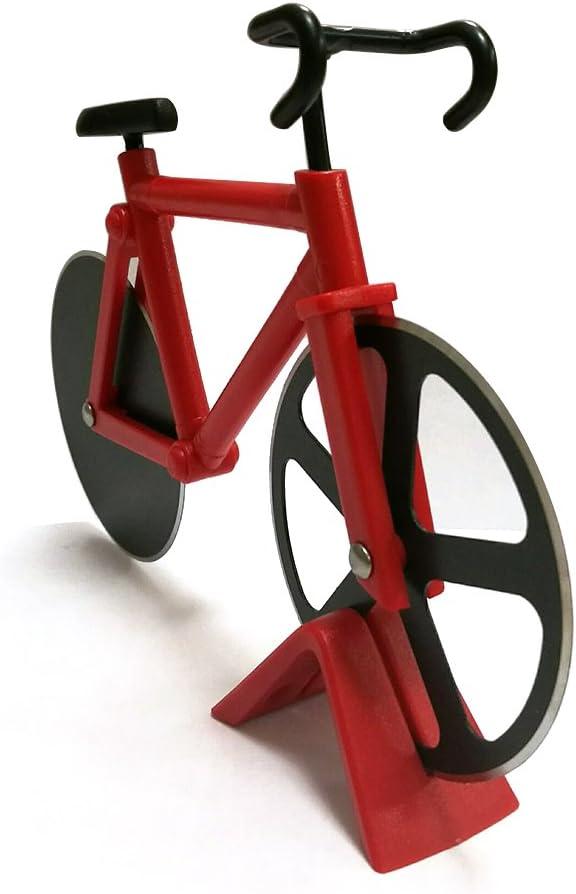 amasson bicicleta ruedas cortador de Pizza, cocina y comedor acero ...
