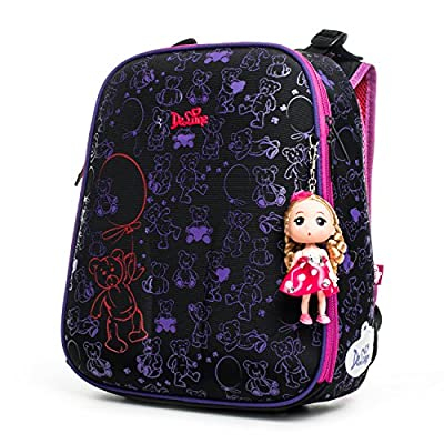 Delune Kids Backpack Multilayers Waterproof School Bags Books Storage best
