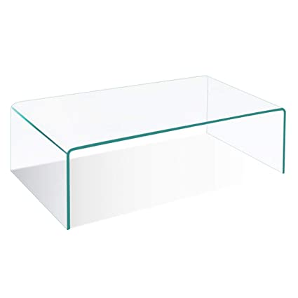Glass for coffee table Modern Image Unavailable Image Not Available For Color Tangkula Coffee Table Waterfall Tempered Glass Amazoncom Amazoncom Tangkula Coffee Table Waterfall Tempered Glass Rectangle