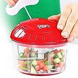 Crank Chop Food Chopper and Processor Original - Chop Vegetables Onions Garlic Meats